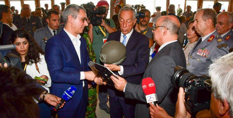 Img - Presidente da República testa equipamentos AuxDefense